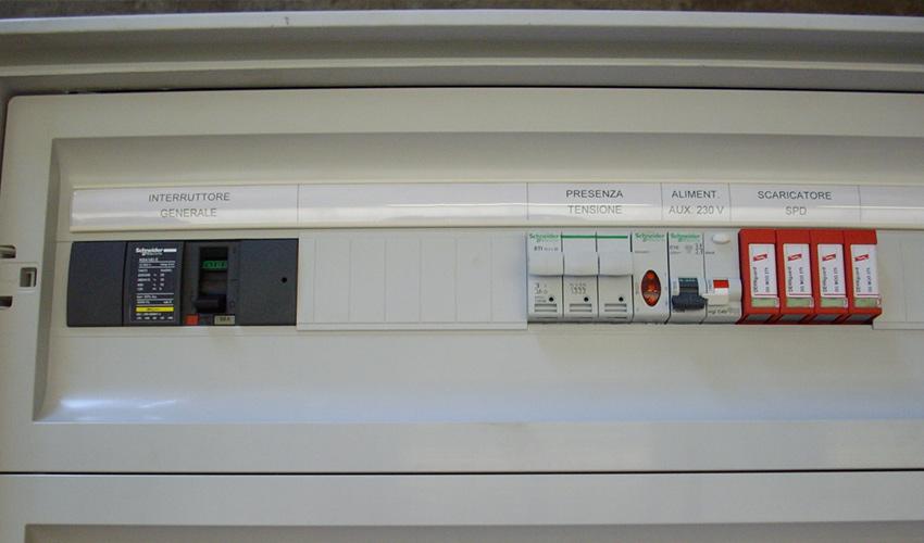 Schema Elettrico Quadro : Quadri elettrici tecno10 progettazione ed assemblaggiotecno10